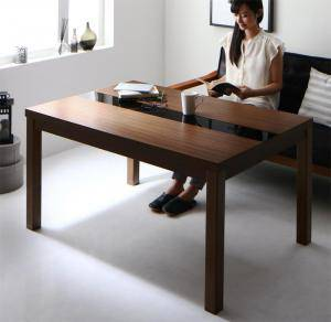 ダイニングテーブル こたつテーブル コタツ 長方形 ハイタイプ 椅子用 おしゃれ 安い 北欧 食卓 テーブル 単品 モダン 机 会議用テーブル ( こたつテーブル長方形(75×105cm)