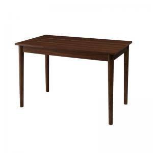 ダイニングテーブル おしゃれ 安い 北欧 食卓 テーブル 単品 モダン 机 会議用テーブル ( 食卓テーブルブラウン 幅115 )