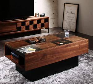センターテーブル ローテーブル おしゃれ 北欧 木製 リビングテーブル コーヒーテーブル 応接テーブル デスク 机 アジアン ( センタ―テーブル幅105 )