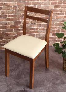 ダイニングチェア 2脚 椅子 おしゃれ 北欧 安い アンティーク 木製 シンプル ( チェア 2脚 )