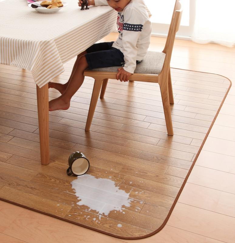 ラグ カーペット じゅうたん ラグマット 絨毯 安い マット 185×300 6畳 + 60×300 ナチュラル おしゃれ 防音 厚手 子供 ダイニングラグ センターラグ