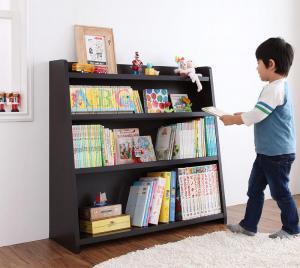 本棚 書棚 大容量 国産 日本製 ランドセル 収納 ラック ホワイト 白 ナチュラル ダーク ブラウン 茶色
