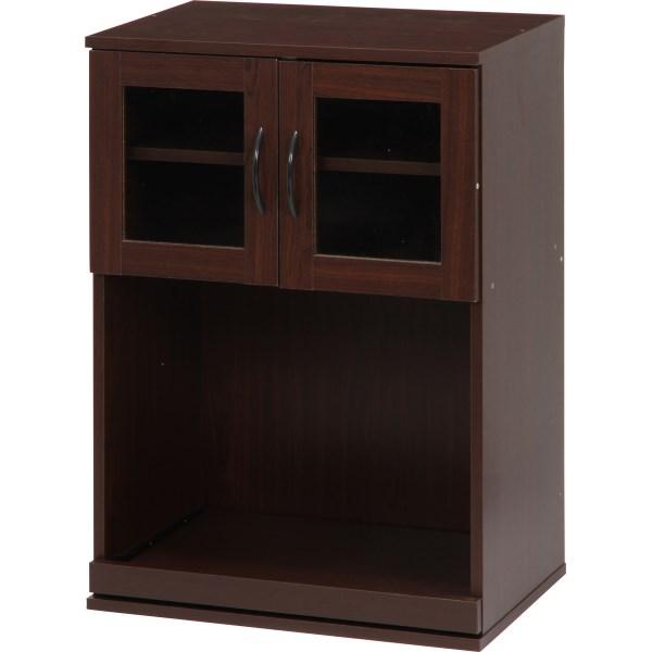 食器棚 おしゃれ 北欧 安い キッチン 収納 棚 ラック 木製 レンジ台 ロータイプ コンパクト ミニ 調味料 小型 小さいサイズ 一人暮らし 約 幅60 約 奥行40