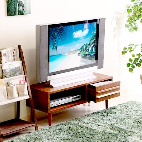 テレビ台 おしゃれ 安い 北欧 ローボード テレビボード 収納 90 ブラウン 茶色 薄型 幅90 TV台 テレビラック TVボード TVラック