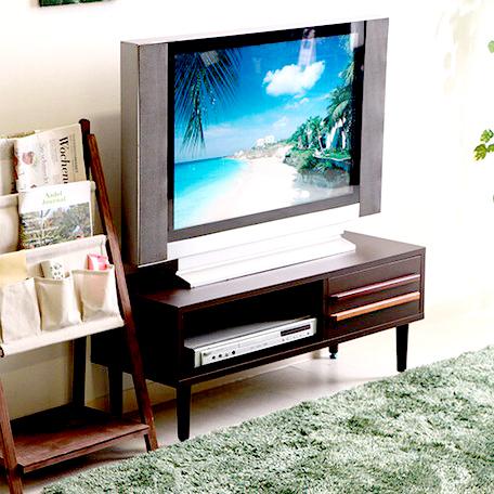 テレビ台 おしゃれ 安い 北欧 ローボード テレビボード 収納 90 ダークブラウン 茶色 脚付き 幅90 TV台 テレビラック TVボード