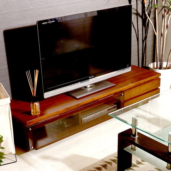 テレビ台 おしゃれ 安い 北欧 ローボード テレビボード 収納 150 ブラウン 茶色 薄型 扉付き 幅150 TV台 テレビラック TVボード TVラック