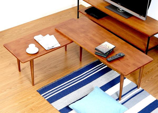 センターテーブル ローテーブル おしゃれ 北欧 木製 リビングテーブル コーヒーテーブル 応接テーブル デスク 机 ブラウン 幅120 奥行43~50 高さ37