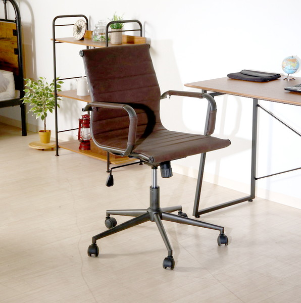 オフィスチェア 事務椅子 キャスター付き椅子 キャスター 椅子 パソコンチェア デスクチェア ブラック