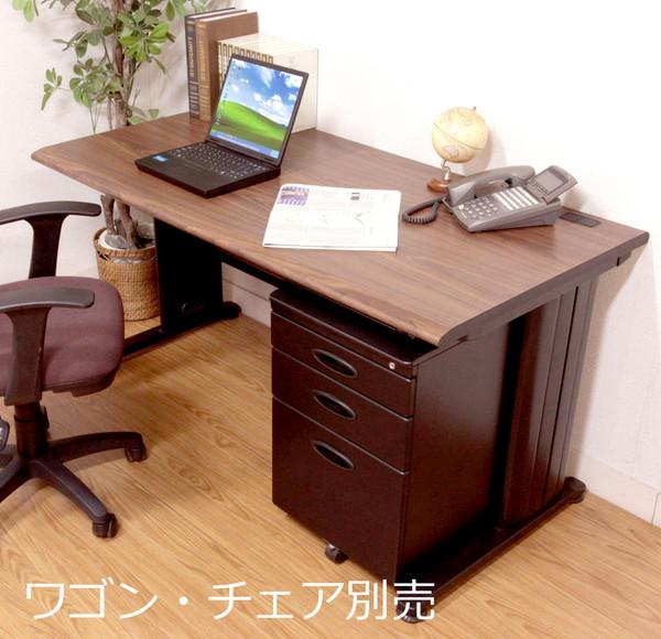 オフィスデスク スチール 事務机 パソコンデスク 机 デスク PCデスク おしゃれ 安い 北欧 シンプル オフィス ワイド ゲーミング ブラック パソコンラック ワークデスク 約 幅140