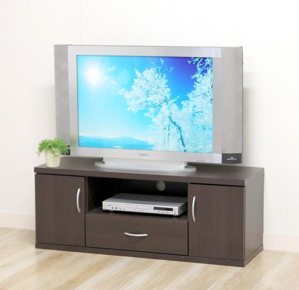 テレビ台 おしゃれ 安い 北欧 ローボード テレビボード 収納 120 ブラウン 茶色 薄型 扉付き 幅120 TV台 テレビラック TVボード TVラック