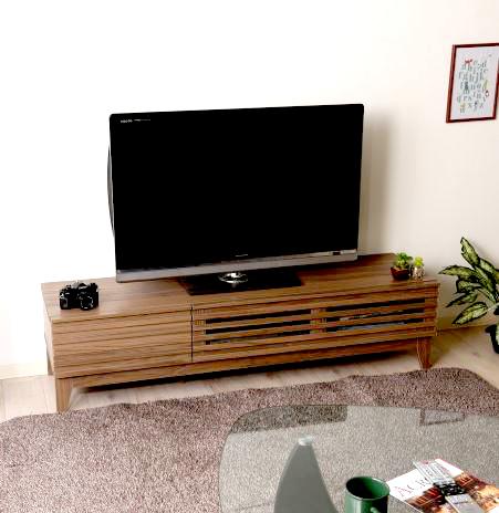 テレビ台 おしゃれ 安い 北欧 ローボード テレビボード 収納 150 ブラウン 茶色 脚付き 薄型 幅150 TV台 テレビラック TVボード TVラック