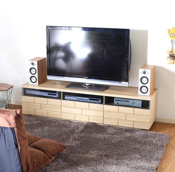 テレビ台 おしゃれ 安い 北欧 ローボード テレビボード TV台 テレビラック TVボード TVラック 収納 多い ナチュラル 幅150 奥行40 高さ39
