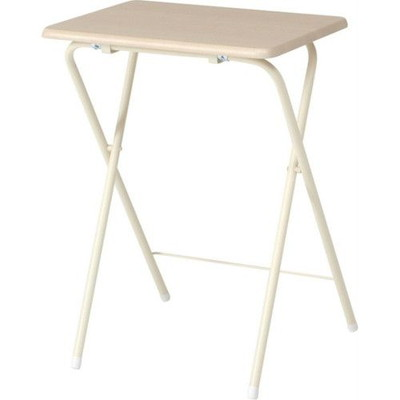 ワークデスク ワークテーブル 作業台 キッチン 折り畳み おしゃれ 幅50 高さ70 4個 折りたたみ ナチュラル 机 デスク つくえ パソコン台