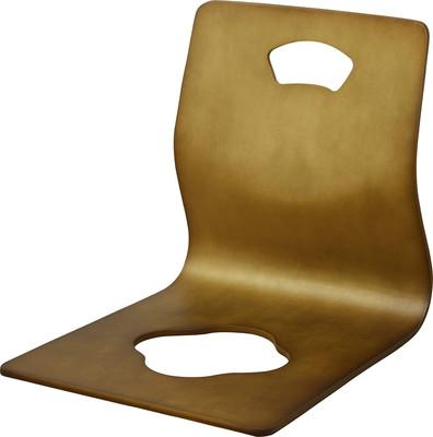 座椅子 座いす チェア 椅子 イス 低い 安い コンパクト 小さめ シンプル 4脚 4脚セット 高齢者 和風 ブラウン 茶色 低い椅子 和室 座敷用椅子 座敷椅子 座敷