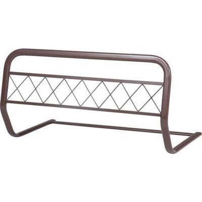 4個 ベッドガード ベッドフェンス ブラウン 茶色 ハイタイプ 安い ロング 布団 おしゃれ 転落防止 子供 介護
