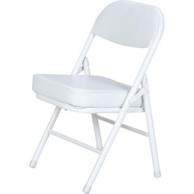 パイプ椅子 折りたたみ椅子 折り畳み椅子 イス 椅子 チェア おしゃれ 安い コンパクト 6脚 ミニ ホワイト 白 低い椅子 低い 背もたれ 背もたれ付き ロータイプ