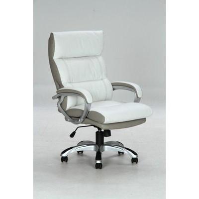 オフィスチェアー キャスター付き椅子 学習椅子 ホワイト 白 【 椅子 チェアー イス いす パソコンチェアー ハイバック ダイニングチェアー デザイナーズチェアー 送料無料 ポイント 】