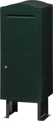 宅配ボックス ポスト 大型 郵便ポスト 郵便受け 鍵付き 鍵 安い 家庭用 A4 玄関 置き型 置き型ポスト スタンド スタンドタイプ スタンド型 自立 鍵付き 鍵