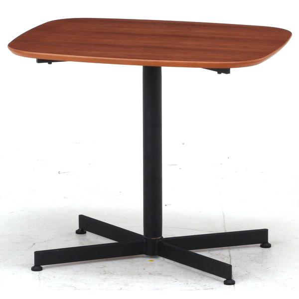 ソファーテーブル サイドテーブル パソコンデスク コーヒーテーブル ティーテーブル ベッドサイドテーブル ナイトテーブル 軽量 コンパクト 小型 小さい 小さめ 小 ミニ 一人暮らし ワンルーム ブラウン×ブラック 幅70 奥行60 高さ60
