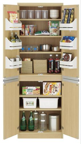 食器棚 おしゃれ 北欧 安い 完成品 キッチン 収納 棚 ラック 木製 キッチンボード カップボード ハイタイプ 大容量 約 幅60 日本製