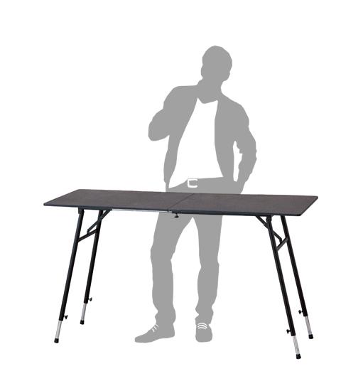 ブラウン 茶色 ハイデスク スタンディングテーブル スタンディングデスク 作業台 【立ち机 オフィスデスク スタンディング デスク パソコン 仕事机 送料無料】 昇降テーブル キャスター 読書テーブル パソコンデスク 高さ調整 昇降 ハイタイプ