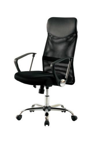 オフィスチェア 事務椅子 デスクチェア キャスター付き椅子 キャスター 椅子 チェア ハイバック ブラック 黒 肘付き椅子 肘掛け椅子 肘置き 肘付 肘掛