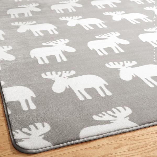 ラグ カーペット おしゃれ ラグマット 絨毯 北欧 安い ふわふわ 厚手 極厚 ふかふか もこもこ ホットカーペット対応 床暖房対応 3畳 200×240 あったか