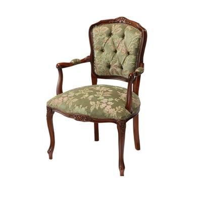 ダイニングチェア 椅子 おしゃれ 北欧 安い 肘付き ひじ掛け クッション 座布団 座り心地 アンティーク ウォールナット ウォルナット 木製 猫脚 ハイバック ファブリック モダン 座面高め デザイナー カフェ
