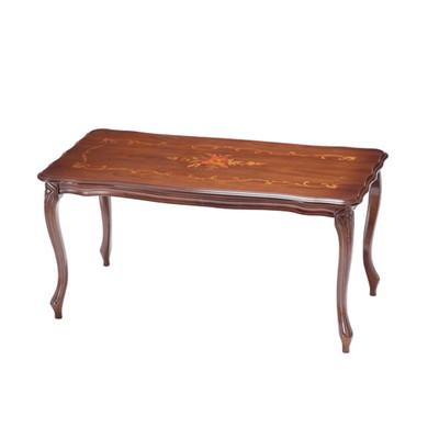 センターテーブル コーヒーテーブル 幅100cm イタリア ヨーロピアン アンティーク風