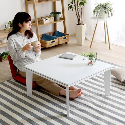一人暮らし モダン おしゃれ こたつ 68cm幅 正方形 リバーシブル 単品 センターテーブル ローテーブル コーヒーテーブル デスク 机 文机 リビング ロー 低い
