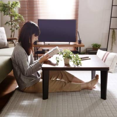 一人暮らし こたつ ビンテージ モダン おしゃれ 正方形 68cm センターテーブル ローテーブル テーブル リビングテーブル コーヒーテーブル デスク