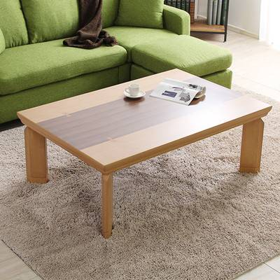 モダン おしゃれ 継脚 高さ調節 こたつ ナチュラル カーボンヒーター 120×80幅 長方形 単品 センターテーブル ローテーブル テーブル リビングテーブル コーヒーテーブル 応接テーブル 机 一人暮らし ソファーテーブル