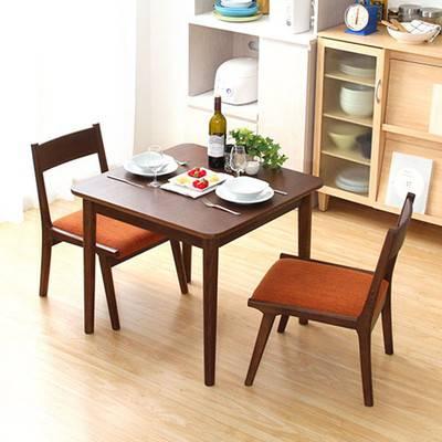 2人用 二人用 テーブル + チェア 2脚 ナチュラル ロー ロータイプ ローチェア ブラウン 木製 ダイニングセット 食卓セット 三点 三点セット 3点 3点セット ダイニングテーブル ダイニングチェア 食卓 机 椅子 デスク 北欧 インテリア 家具 コンパクト アンティーク