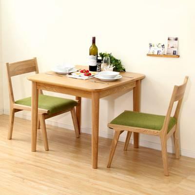 ダイニングテーブルセット ダイニングセット おしゃれ 安い 北欧 食卓 正方形 2人用 二人用 コンパクト 小さめ 一人暮らし 75×75 椅子 2脚 ナチュラル カントリー カフェテーブル