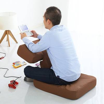 かわいい 可愛い 子供 こども キッズ 読書 座椅子 布 リクライニング 座いす 座イス チェアー 椅子 フロアチェアー 座布団 クッション 低い 低い椅子