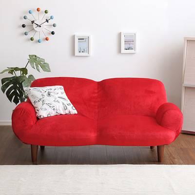 ソファー ソファ 2人掛け 二人掛け 2人用 二人用 おしゃれ 北欧 安い カフェ リビング モダン 座椅子 低い ローソファ ローソファー 一人暮らし こたつ リクライニング 布 ファブリック ふかふか 肘付き グリーン 緑 ピンク レッド 赤 ベージュ ブラウン 茶色