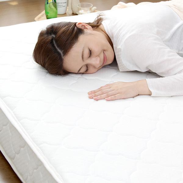あす楽 マットレス マット ベッドマットレス ベッドマット ダブル 安い あす楽 腰痛 ポケットコイル ロール梱包 お昼寝 140×195 ベッド ベット