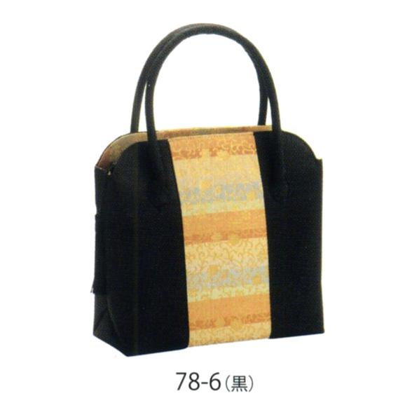 トートバッグ房付(NO.36型)(黒)送料無料 風呂敷 着物 手ぬぐい【smtb-k】【ky】