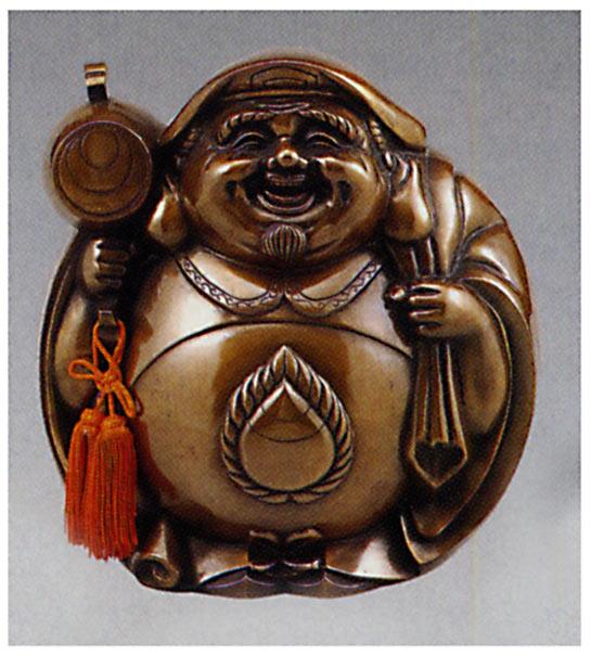 七福神 招福大黒 大 和雑貨 開運 床の間 銅像 香炉 送料無料