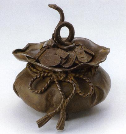 送料無料 香炉 福袋香炉 彫刻 銅像 雑貨 置物 床の間