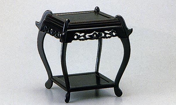 ミニ中卓 床の間 花台 花瓶台 木製 雑貨 小物 置物 飾り台 飾り棚 送料無料