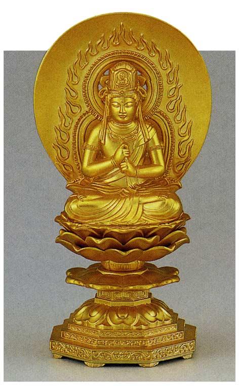 十三仏 大日如来 牧田 秀雲 床の間 置物 仏具 仏像 銅像 送料無料
