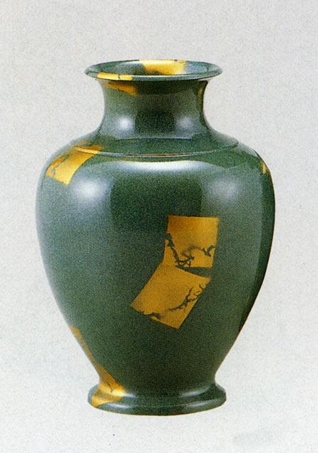 8号 住吉 花瓶 花器 床の間 置物 銅製 ブロンズ 送料無料