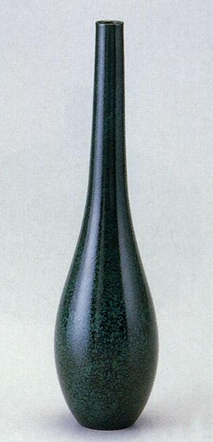 曽呂利 花瓶 花器 床の間 置物 銅製 ブロンズ