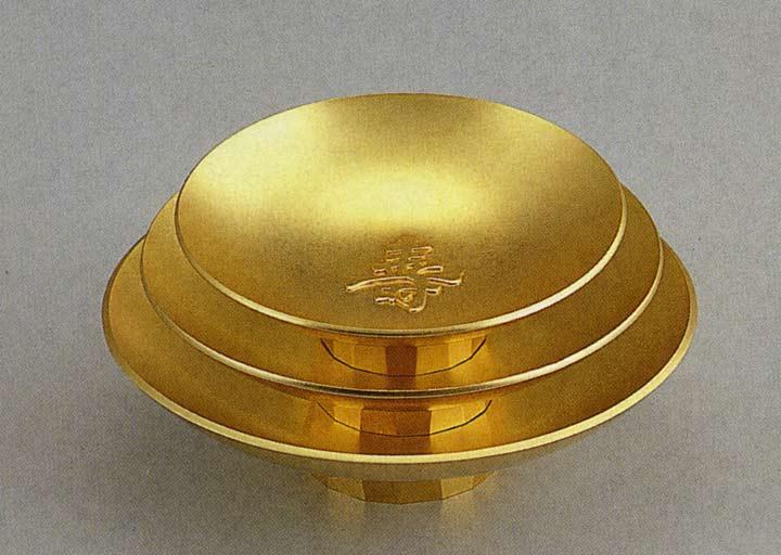 金盃 寿三ツ重 置物 和風 床の間 和雑貨 贈答