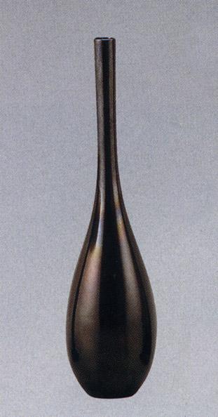 曽呂利 9号 能作 一佳 茶道具 床の間 置物 銅製 ブロンズ