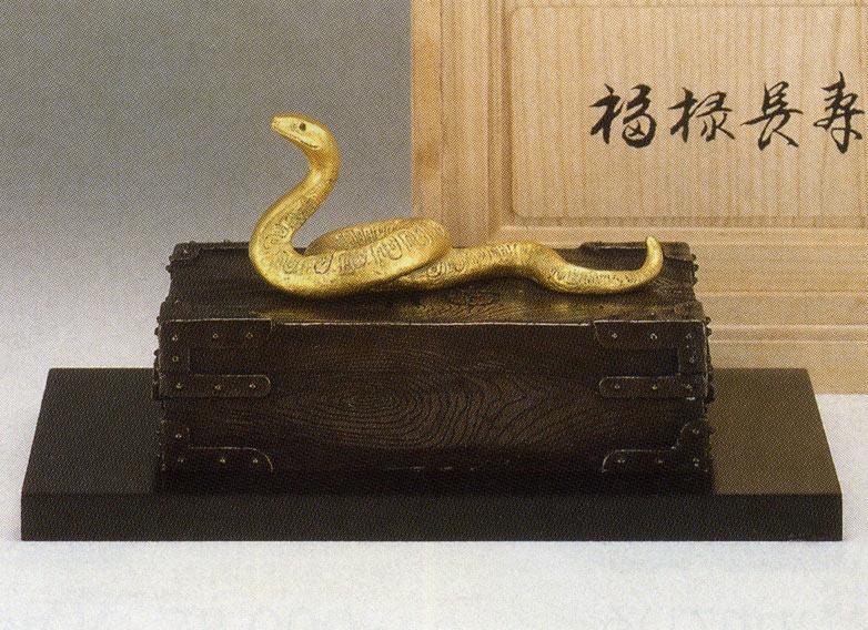 送料無料 福禄長寿 彫刻 銅像 雑貨 置物 美術 床の間