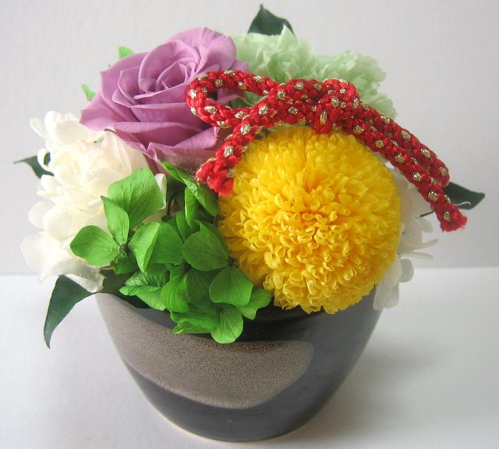 A ki flower je rakuten global market preserved japanese farewell retirement or birthday gift wedding baby gifts housewarming the presentation of gifts gifts as a new years flowers negle Gallery