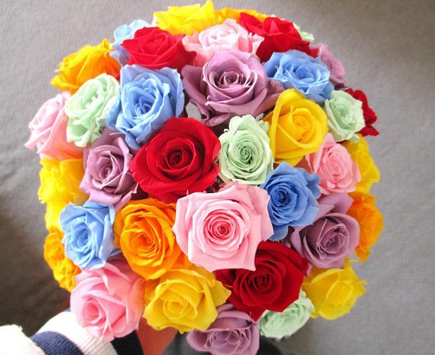 A Ki Flower Je Bouquet Bouquet Preserved Flower Flower Gift Flower