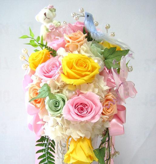 母の日 プレゼント 結婚祝い 花 電報 プリザーブドフラワー 結婚記念日 プロポーズ 退職祝い 送別 結婚祝い 誕生日 還暦祝い お母さん 誕生日の花 開店祝い 開店花 送別 ウェディング ベア 青い鳥